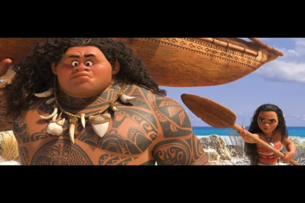 Moana Review: Disney Introduces a Polynesian Princess #moana #ad #RWM