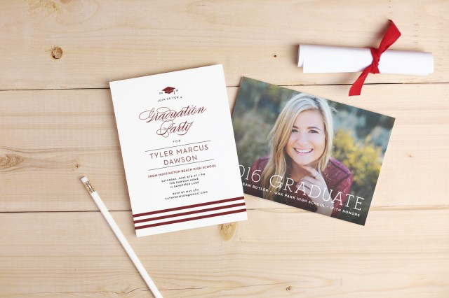 Celebrate with truly custom invitations from Basic Invite #graduation #grad #basicinvite