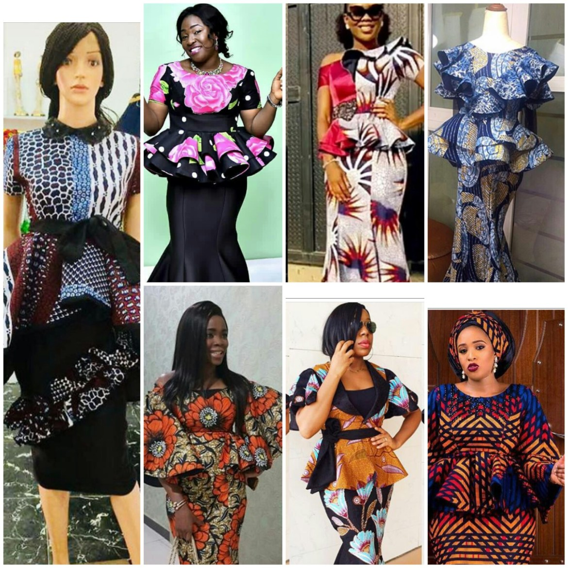 94dd3ccc30758 Hello world check out latest pictures of ankara peplum skirt and blouse  styles.