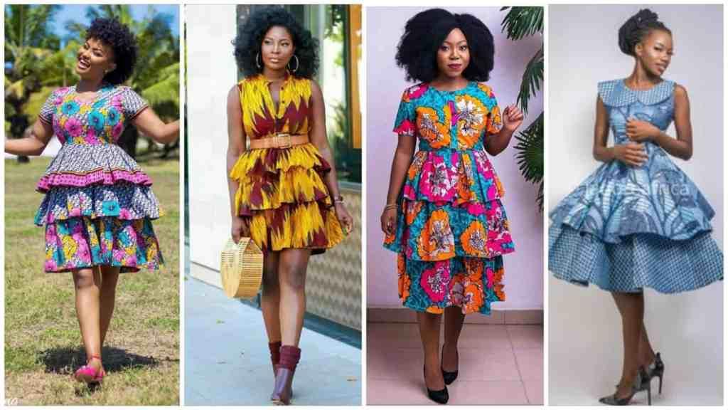 Trending ankara short gown Styles