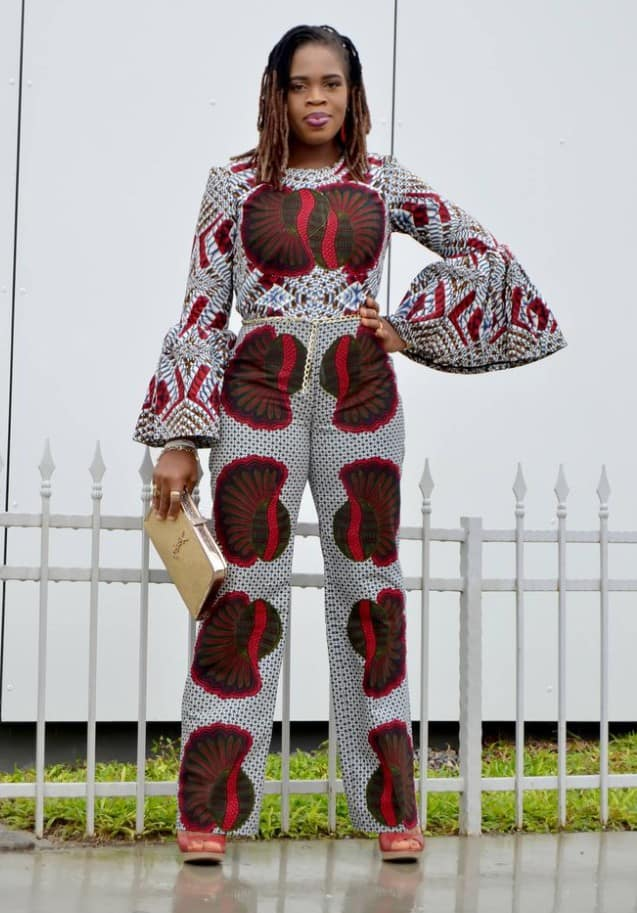 Amazing ways to style your ankara mix-match trousers