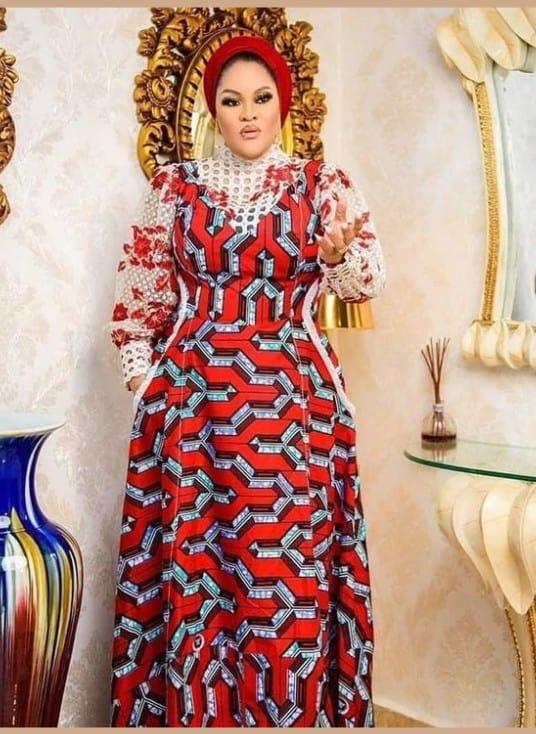 Trending Ankara bubu kaftan and Maxi Styles for Fashionable Women
