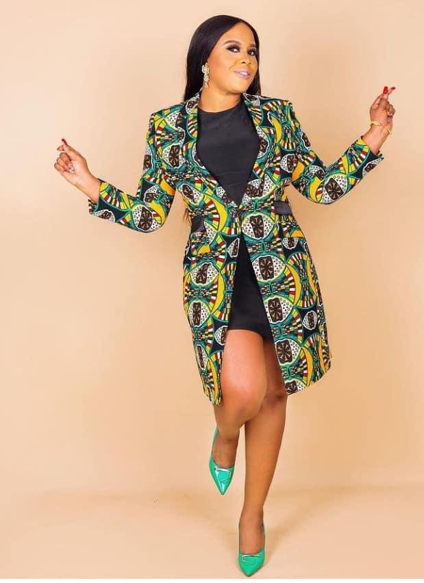 Amazing ankara Kimono jacket styles for stylish women