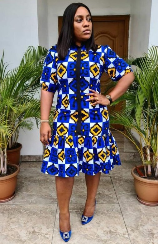 30 Dazzling Ankara Styles for Business Minded Women