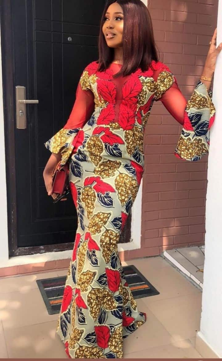Beautiful Ankara Long Gown Styles for Fashionable Women