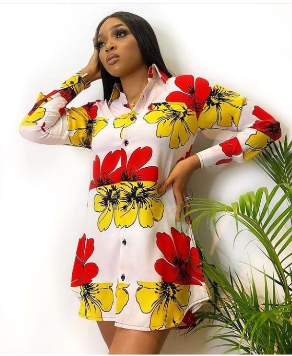 Stylish and Sassy Shirt Dress Styles For Classy Ladies