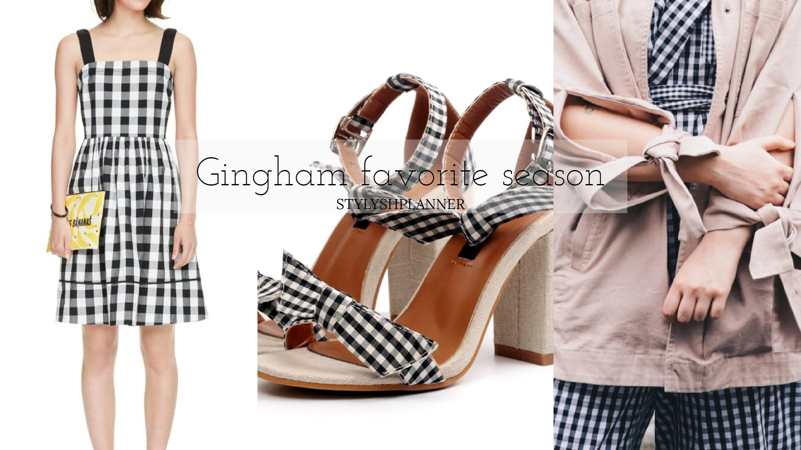 Gingham favorite season