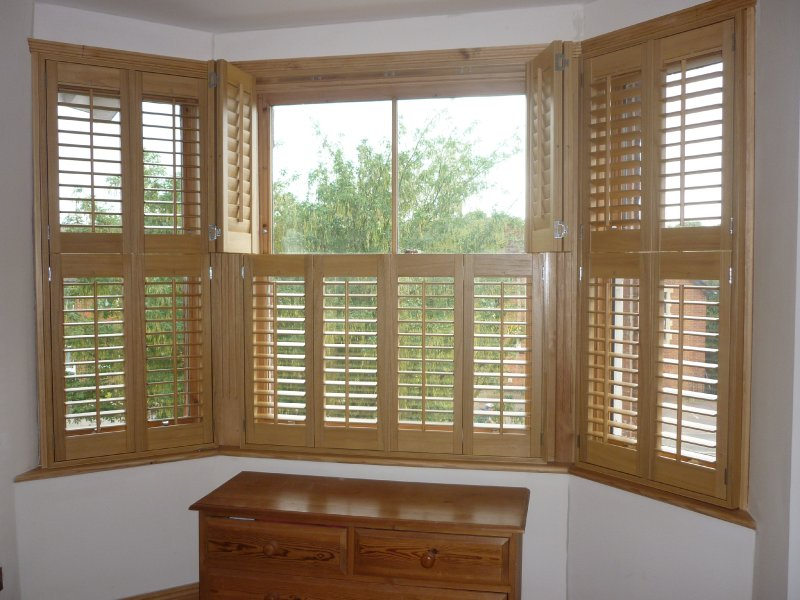 Inside Window Shutters Wall