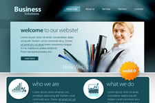 Free business website