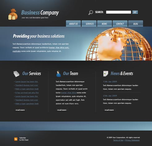 30 free responsive psd website templatespixel2pixel design.html