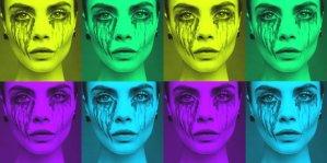 Cara Delevingne collage