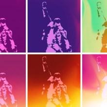 Freddie Mercury Pop Art