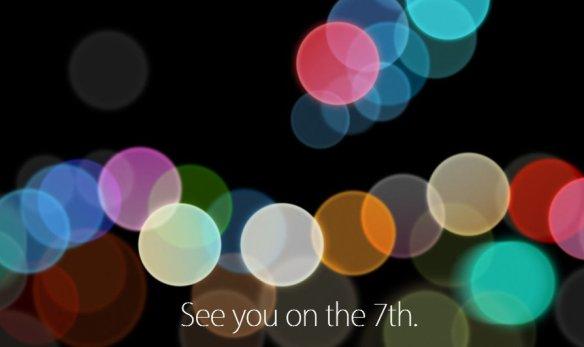 iPhone 7 keynote 7 settembre 2016