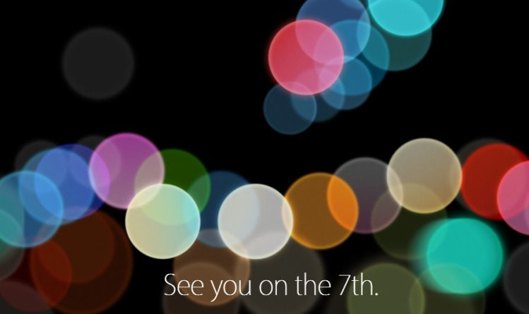 iPhone 7 keynote 7 settembre 2016