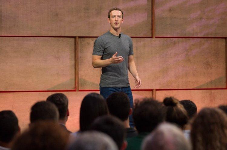 Mark Zuckerberg a Roma
