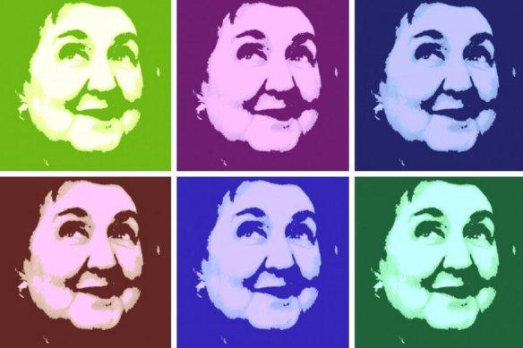 Alda Merini PopArt