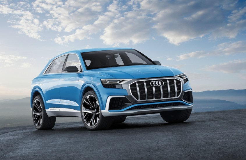 Audi Q8 Concept: svelato a Detroit il Suv coupé ibrido