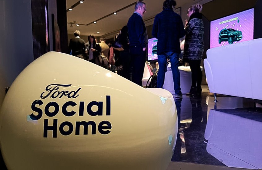 Ford Social Home: il temporary space interattivo per seguire MasterChef Italia