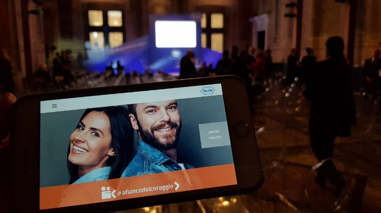 Roche #afiancodelcoraggio: quando i Social sposano una grande iniziativa
