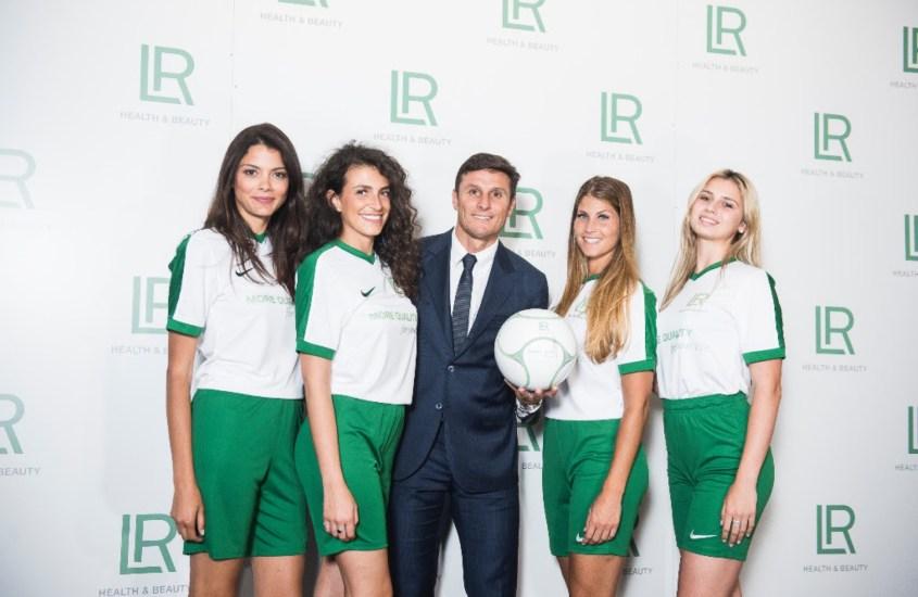 Javier Zanetti è il Brand Ambassador di LR Health & Beauty Italia