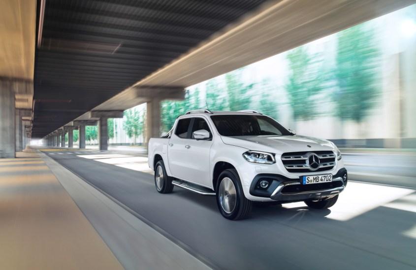 Mercedes Classe X: ecco il primo pick-up premium