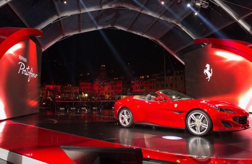 Ferrari Portofino: sportività, eleganza e lusso al Salone di Francoforte