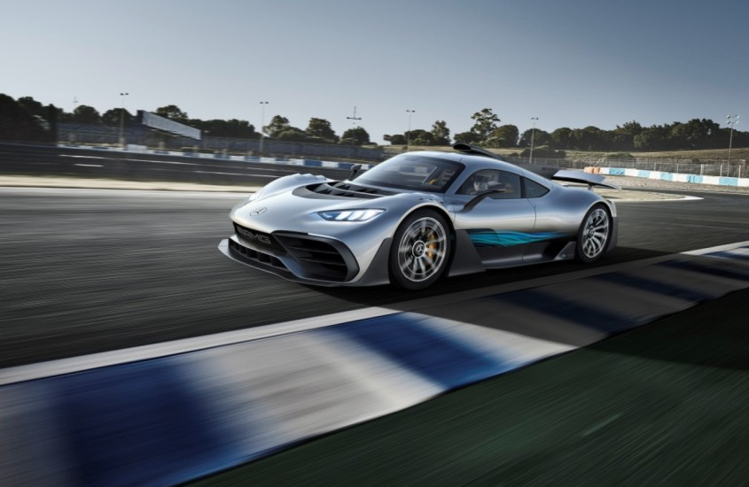 Mercedes AMG Project One: hypercar ibrida da sogno