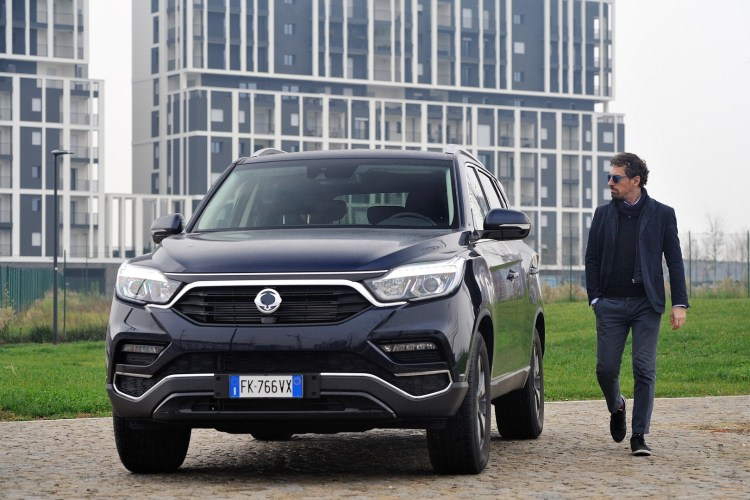 nuovo SsangYong Rexton stylology