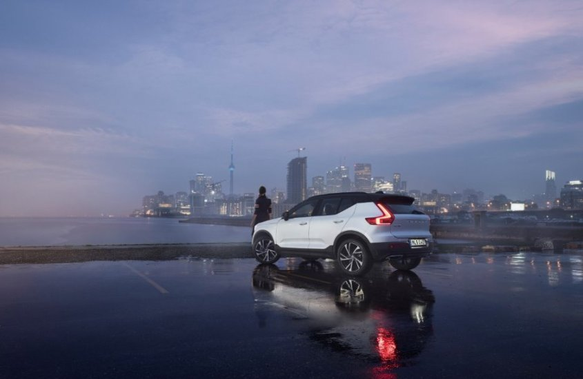 Volvo XC40: per vincere le sfide della moderna vita cittadina