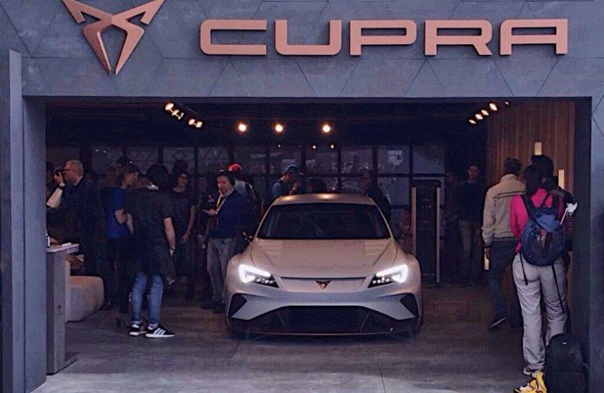 CUPRA e-Racer: spettacolare debutto italiano all'E-Prix di Roma