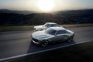 Peugeot e-legend concept 504 coupé
