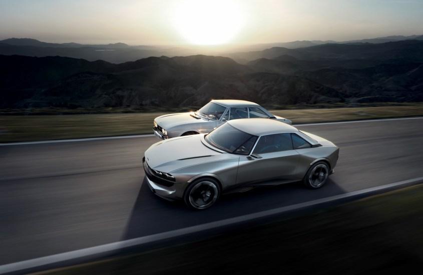 Peugeot e-Legend Concept: ecco i punti di contatto con la 504 Coupé