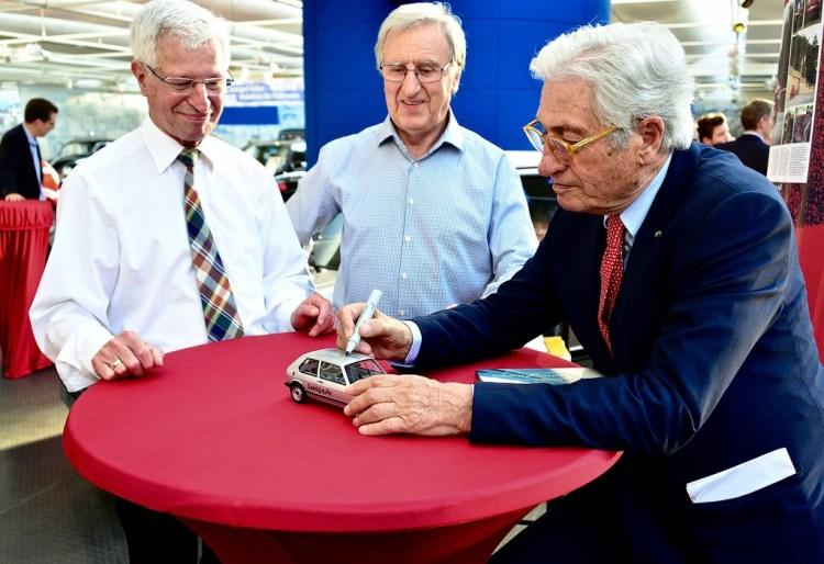 Volkswagen Golf 45 anni - Giorgetto Giugiaro