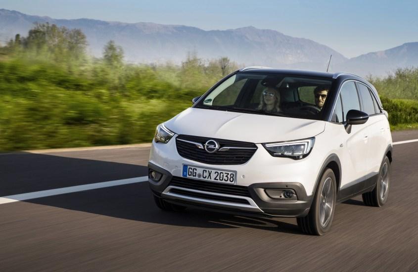 Opel Crossland X: Ecotec Diesel, campione d'efficienza