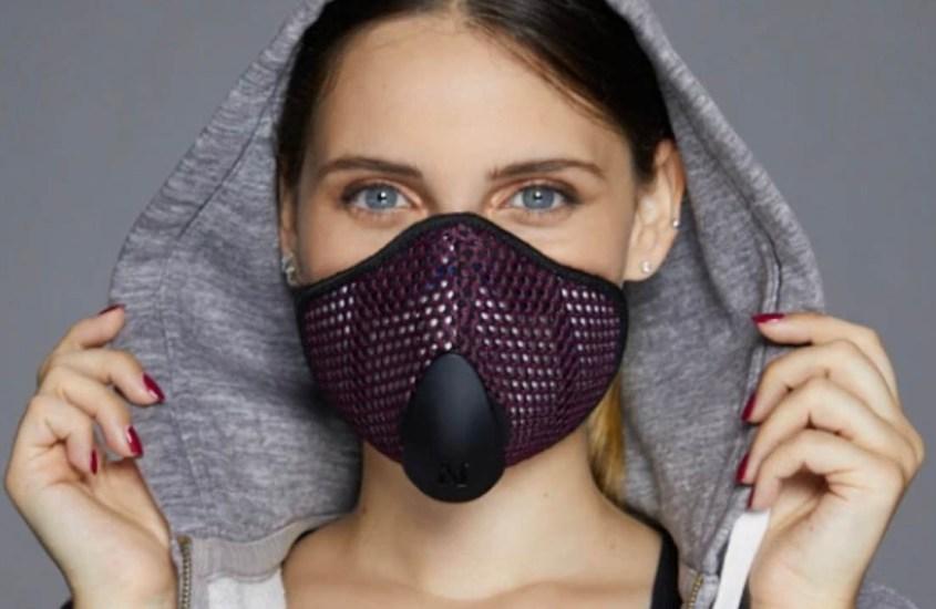 Mascherina FFP3 di design, l'italiana Urban Mask si controlla con un'app