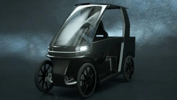 pedalata assistita quadriciclo CityQ Car-eBike