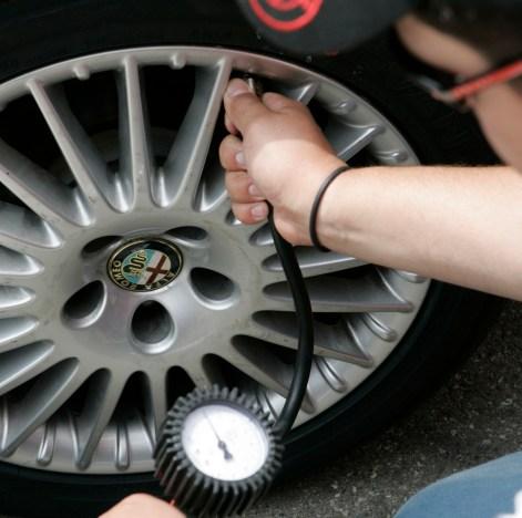 corretta pressione degli pneumatici 2020