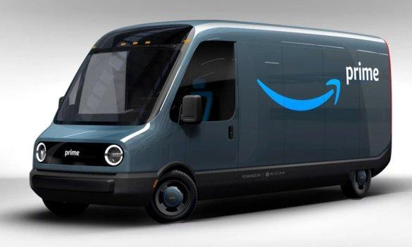 furgone elettrico di amazon