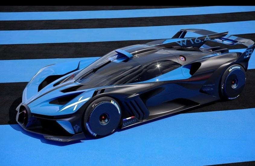 """Bugatti Bolide, un """"missile"""" da 1.825 CV studiato per la pista"""