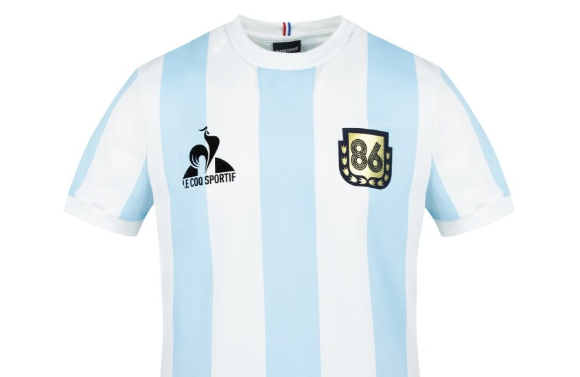Legends, la prima collezione by Le Coq Sportif celebra l'Argentina di maradona
