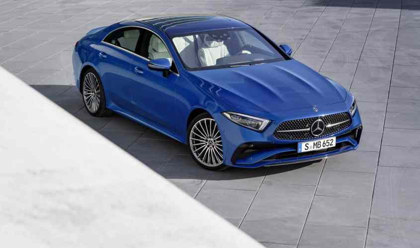 Mercedes CLS 2021 vista alto