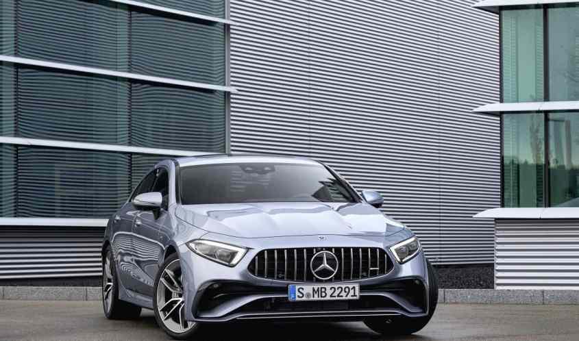 Mercedes CLS 53 AMG profilo anteriore
