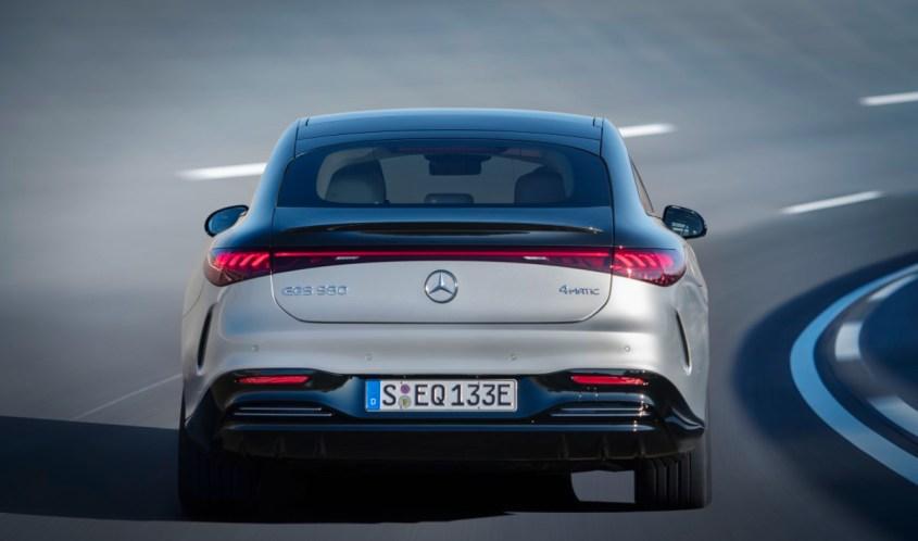 Mercedes-EQ, EQS, V 297, dettaglio posteriore