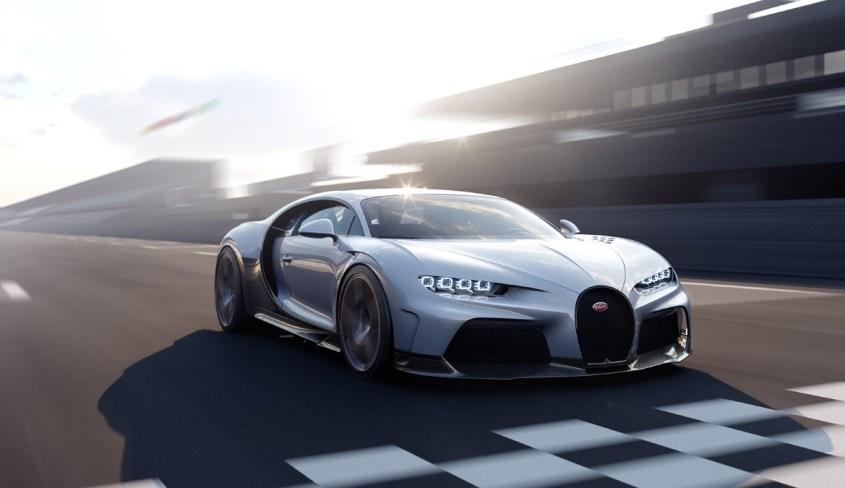 Bugatti Chiron Super Sport vista anteriore