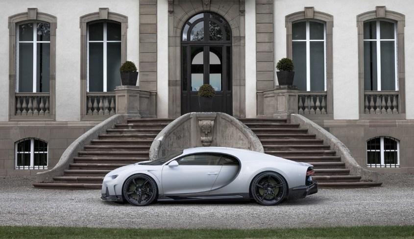 Bugatti Chiron Super Sport profilo