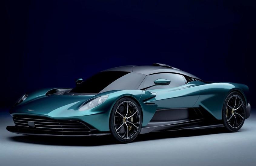 Aston Martin Valhalla, l'ibrida plug-in da sogno con 950 CV