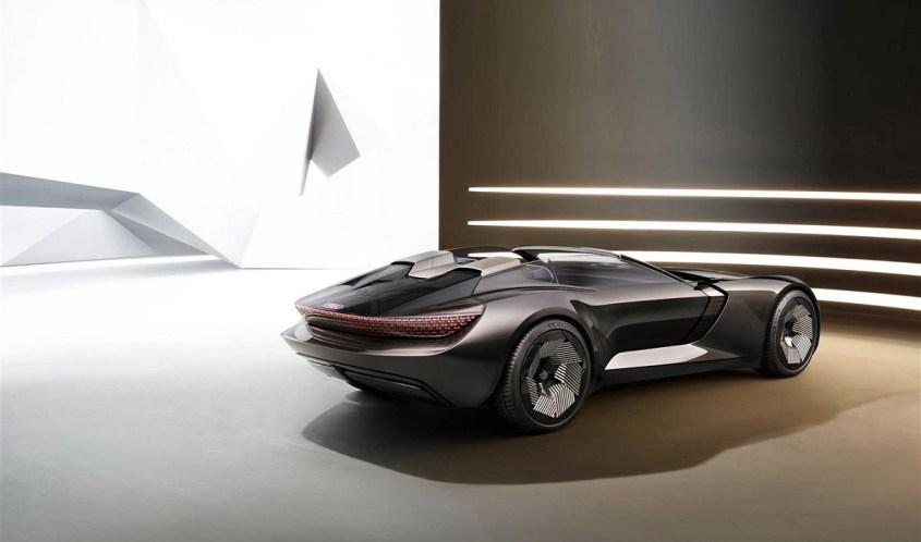 Audi skysphere concept profilo posteriore