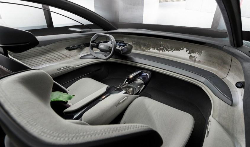 Audi Grandsphere concept interni