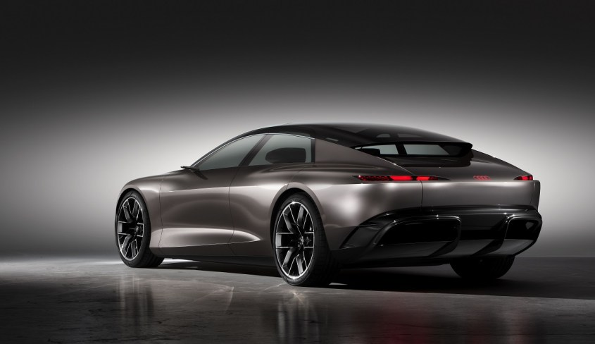Audi Grandsphere concept posteriore