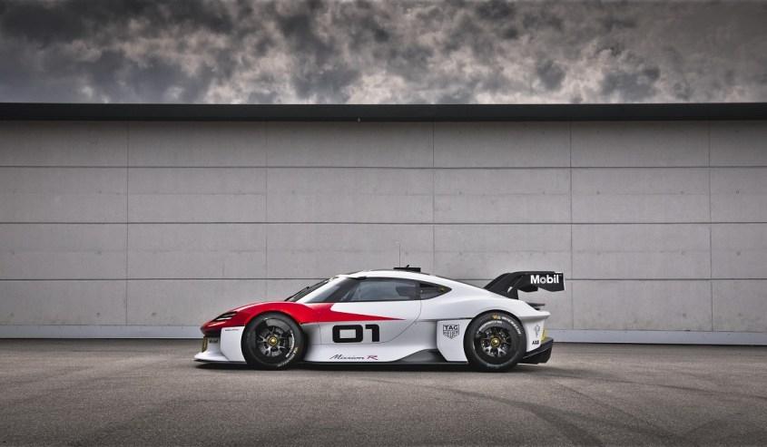 Porsche Mission R profilo